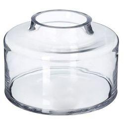 Dekoria wazon szklany denar 15cm, 15 cm