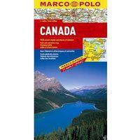 Kanada. Mapa Marco Polo w skali 1:4 000 000