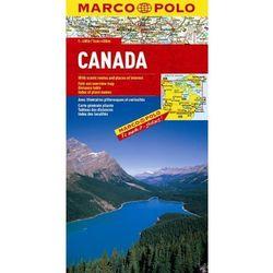 Kanada. Mapa Marco Polo w skali 1:4 000 000, książka z kategorii Geografia