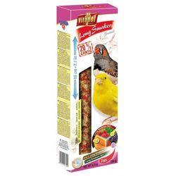smakers long mix 3w1 dla kanarka i zeberek dzikie nasiona/owoce lasu/marchewkowy wyprodukowany przez Vitapol