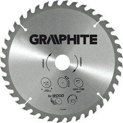 Tarcza do cięcia GRAPHITE 57H652 165 x 30 mm do pilarki widiowa
