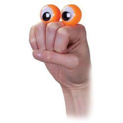 Oczy na palce pacynka pomarańczowa (pacynka, kukiełka) od SELKAR