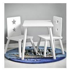 Kids concept stolik z okrągłymi nogami