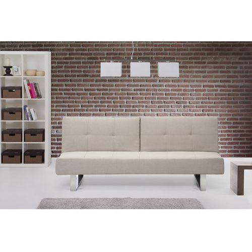 Rozkladana sofa ruchome podlokietniki - DUBLIN bez, Beliani z Beliani
