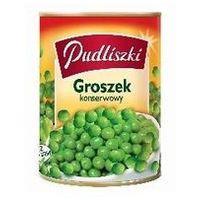 Groszek konserwowy zielony i soczysty 400 g Pudliszki (5900783000028)