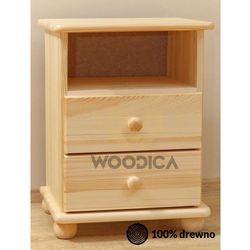 1. szafka nocna 2s+p marki Woodica