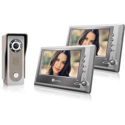 Genway Wideodomofon f-s7v11 z dwoma monitorami