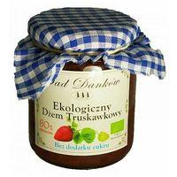 Dżem truskawkowy bez cukru 260g bio eko  marki Sad danków