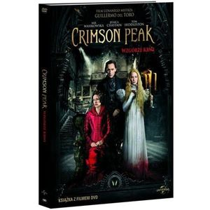 Crimson Peak Wzgórze krwi - Matthew Robbins, Guillermo del Toro OD 24,99zł DARMOWA DOSTAWA KIOSK RUCHU, 76932102782DV (5224348)