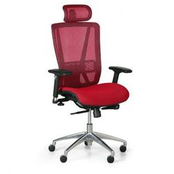 B2b partner Krzesło biurowe lester mf, czarwony