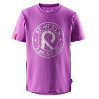 T-shirt szybkoschnący UV REIMA Pomelo różowy (fucshia fun)