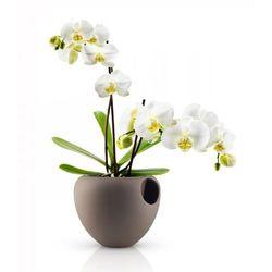 Eva Solo ORCHID Doniczka Samopodlewająca do Kwiatów - Brązowa (doniczka i podstawka)