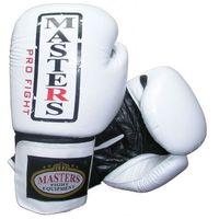 Rękawice bokserskie masters rbt-31 10 oz biało-czarne izimarket.pl marki Sport masters