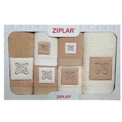 Ziplar Komplet ręczników 6 szt. beż/ekri