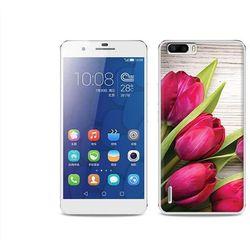 Foto Case - Huawei Honor 6 Plus - etui na telefon Foto Case - czerwone tulipany - sprawdź w wybranym sklepie