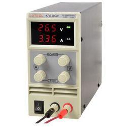 Zasilacz serwisowy LUTSOL KPS305DF 0-30V 0-5A, kup u jednego z partnerów