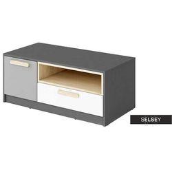 Selsey szafka rtv taratam 100 cm z szufladą (5903025554303)