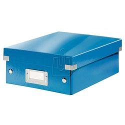 Pudło Click & Store z przegródkami małe niebieskie 6057, BP820020
