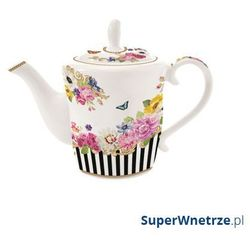 Nuova r2s Czajnik porcelanowy 1l flowers glamour