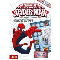 Spider Man gry i zabawy + karty do zabawy do wypchnięcia - Wysyłka od 4,99