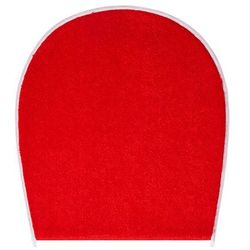 dywanik łazienkowy flash, ruby czerwony, 47x50 cm marki Grund