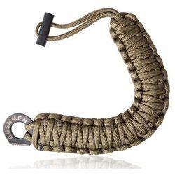 Bransoleta z paracordu Bushmen z krzesiwem i ostrzem (BU1BRCA6COY) - produkt z kategorii- Pozostały camping i