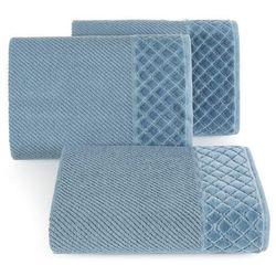 Ręcznik sava 50x90 ciemny niebieski marki Eurofirany