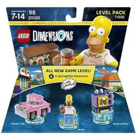 Lego dimensions - the simpsons level pack 71202 marki Warner brothers entertainment