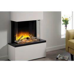 Flamerite fires - nowość 2021 Kominek wolnostojący flamerite fires tropo 600 cb led z nadbudową efekt płomienia radia flame - jeden kolor ognia - promocja