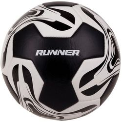 Piłka nożna SPOKEY Runner Żółto-Czarny (rozmiar 5) z kategorii piłka nożna