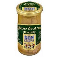 Filety z tuńczyka w oliwie z oliwek 250g Bon Appetit