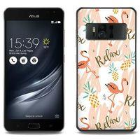 Fantastic Case - Asus Zenfone AR - etui na telefon Fantastic Case - różowe flamingi