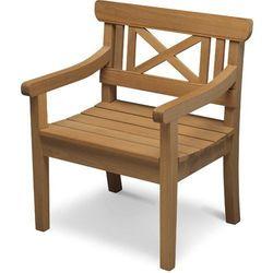 Skagerak Drachmann - Krzesło - Fotel Ogrodowy - Drewno Tekowe