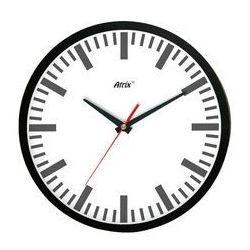 Zegar ścienny czarny index marki Atrix