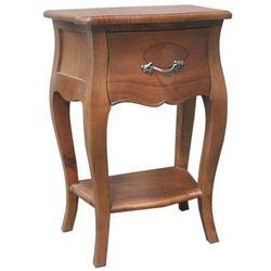 Dekoria  stolik nocny louis natural, 45x30x65cm