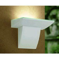 Zewnętrzna lampa ścienna fontela 93255 ogrodowa oprawa elewacyjna kinkiet led 5w outdoor ip44 biały marki Eglo