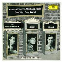 Piano Trios, Piano Quartet - Emil Gilels, Leonid Kogan, Mstislav Rostropovich