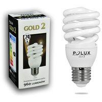 Świetlówka energooszczędna POLUX GOLD 2 mini 15W E27