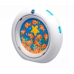 Claessens'Kids Lampka nocna Kid'Sleep My Aquarium, biała, 0024