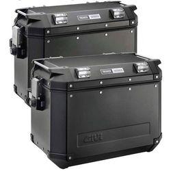 Kufer boczny  Czarny - 37 Litrów LEWY OBK37BL TREKKER OUTBACK, marki Givi do zakupu w StrefaMotocykli.com
