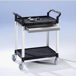 Wózek uniwersalny z szufladami, dł. x szer. x wys. 850x480x950 mm, 1 szuflada, 2 marki Seco
