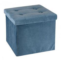 Pufa milia 2x - niebieska marki Producent: elior