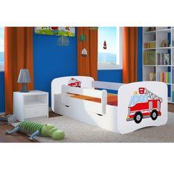 Łóżko dziecięce babydreams straż pożarna kolory, promocja spokojny sen marki Kocot-meble