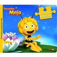 Pszczółka Maja Puzzlowa książeczka Pracowici przyjaciele Mai, oprawa kartonowa