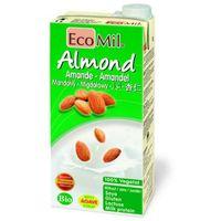 MLEKO MIGDAŁOWE z wapniem słodzone agawą BIO 1L EcoMil
