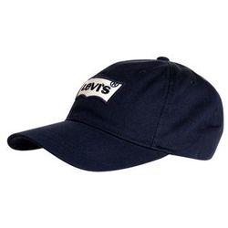 Levi's® BATWING Czapka z daszkiem navy blue, towar z kategorii: Nakrycia głowy i czapki