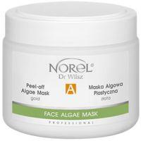 Norel (Dr Wilsz) PEEL-OFF ALGAE MASK GOLD Plastyczna maska algowa złota (PN298)