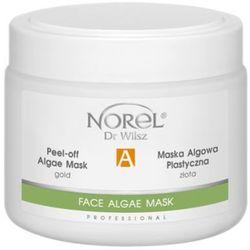 Norel (Dr Wilsz) PEEL-OFF ALGAE MASK GOLD Plastyczna maska algowa złota (PN298) z kategorii Maseczki do twarz