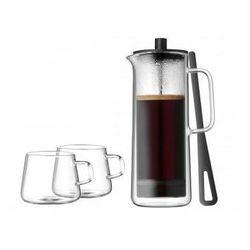 WMF Kawiarka tłokowa z 2 filiżankami do kawy Srebrny, przezroczysty z kategorii zaparzacze i kawiarki