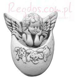 Sztukateria betonowa motyw aniołek 21cm
